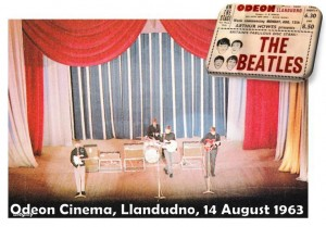 Beatles in 1963dudno